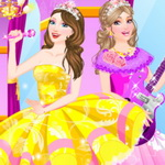 Barbie And Popstar Dress Up
